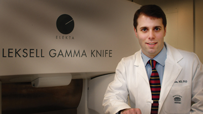 Gamma Knife Center at UVA director Dr. Jason Sheehan
